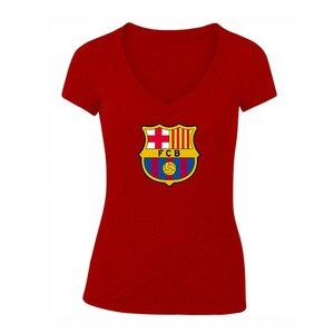 Women's F.C. Barcelona Logo Soccer T-Shirt
